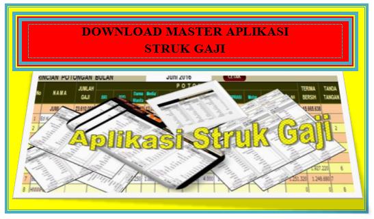 Download Aplikasi Perhitungan Struk Gaji PNS Lengkap dengan Jenis Potongan Terbaru dan Gratis