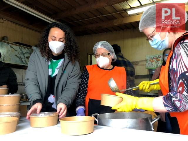 Campaña y donaciones en beneficio de ollas comunes