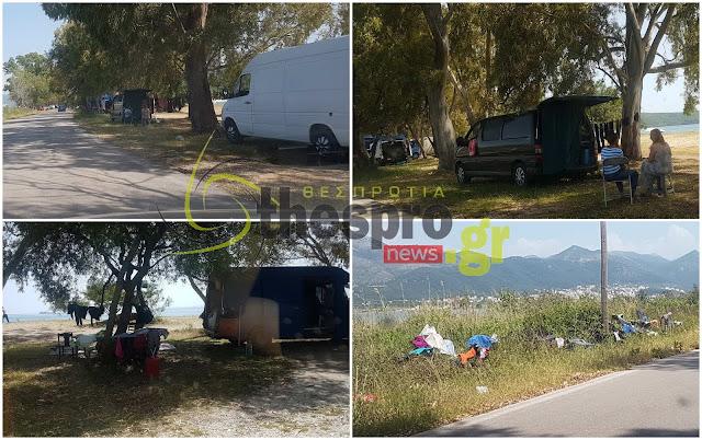 Ντροπή τα όσα συμβαίνουν στην παραλία του Δρεπάνου