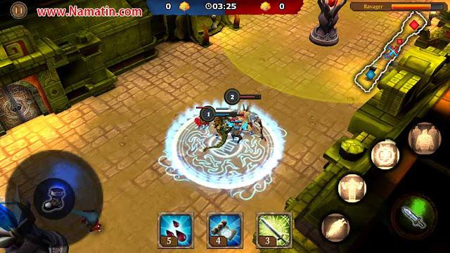 legendary heroes mod apk (moba) offline terbaru free shopping