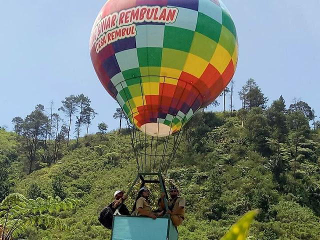 balon udara wisata lembah rembulan