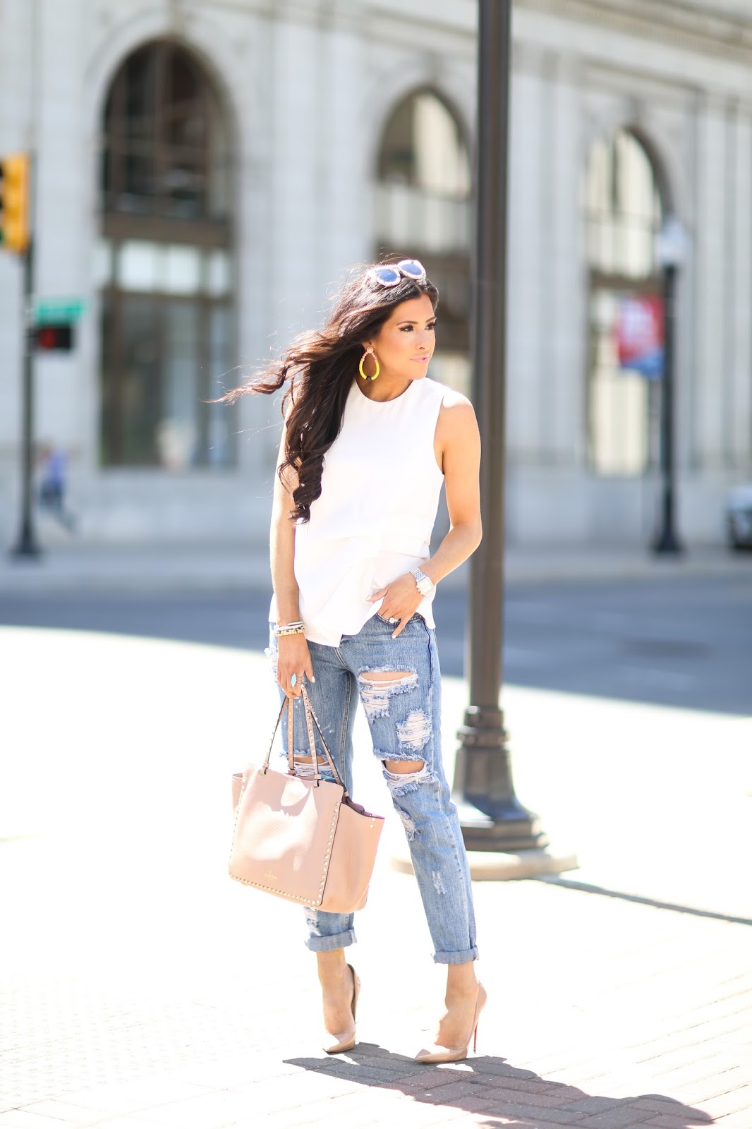 Boyfriend Jeans   Louboutins – The Sweetest Thing