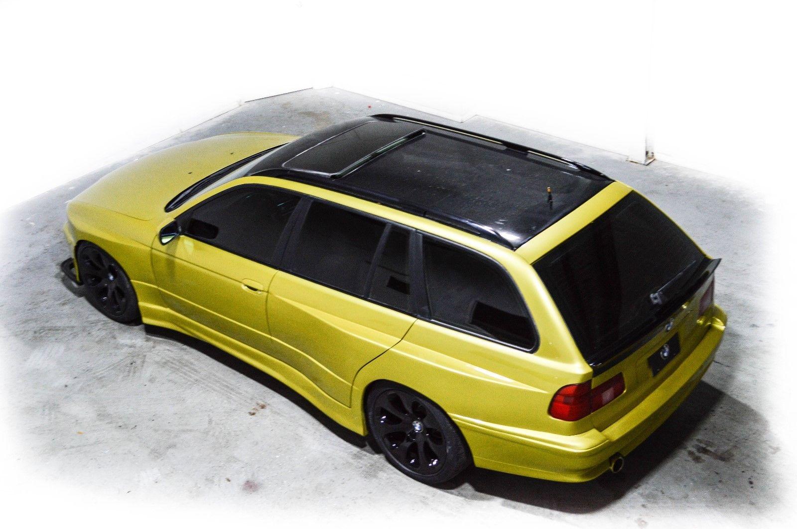 widebody wagon 2000 bmw 540i 6 speed [ 1600 x 1063 Pixel ]