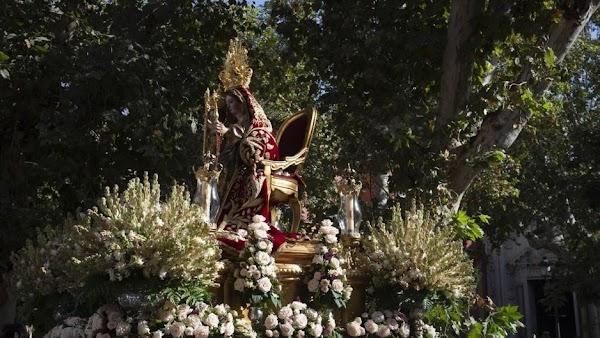 Horario e Itinerario Rosario de la Aurora de la Virgen del Rosario de los Humeros. Sevilla 12 de Octubre del 2021