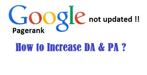 How to Increase DA and PA