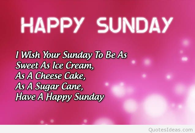 Good Morning And Happy Sunday Sms : Happy sunday to all lailans have a great day ahead