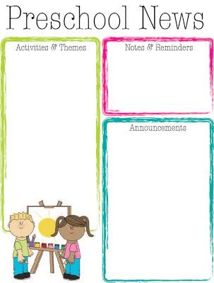 prefuncolors Teacher Newsletter Template Editable on school borders owl templates, edit templates, editable classroom newsletters, primary school newsletter templates, classroom newsletter templates,