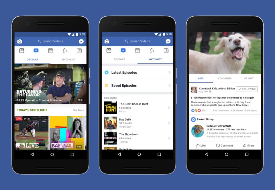 Facebook Watch Fitur Baru Buat Para Content Creator