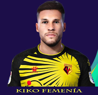PES 2021 Faces Kiko Femenía by Rachmad ABs