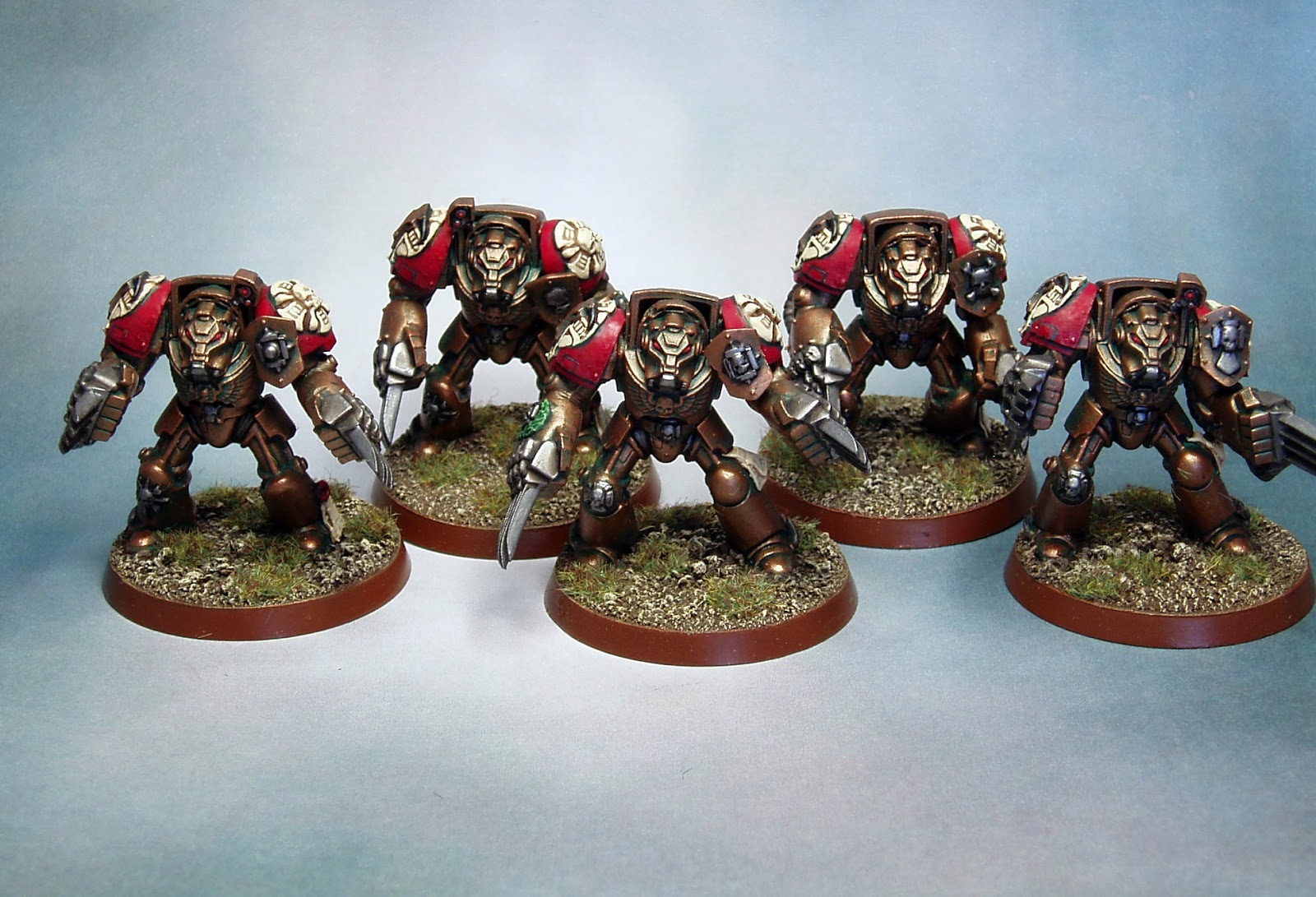 Minotaurs Terminators Lclaws Wip Finished