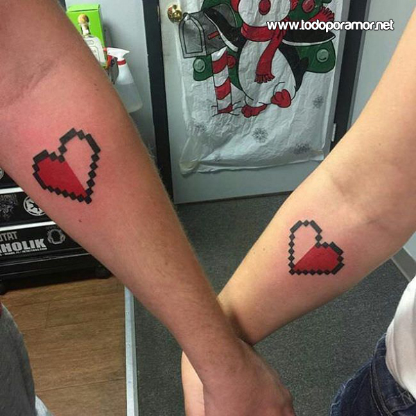 Tatuajes para chicas y chicos enamorados