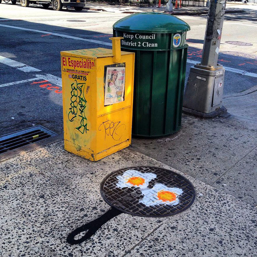 30 Fascinating Graffiti By A Talented Street Artist In New York