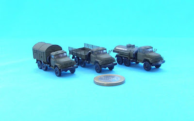1/144 ZiL-131 Variants from Armory Models Group