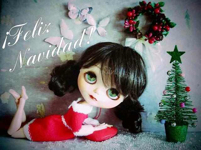 Caty Blythe feliz Navidad
