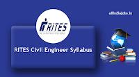 RITES Civil Engineer Syllabus
