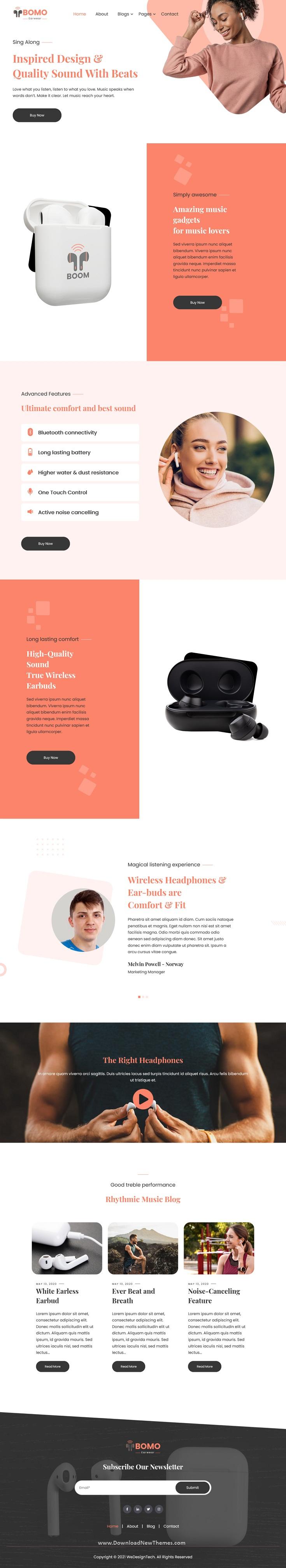 Single Product HubSpot Theme