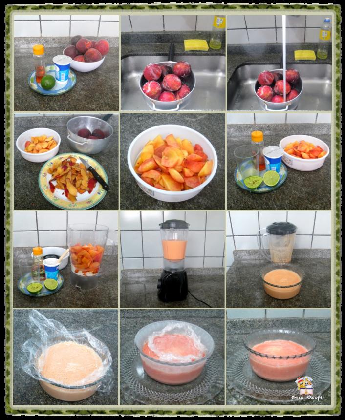 Frozen iogurte de pêssego 3