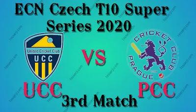 Who will win UCC vs PCC 3rd T20I Match