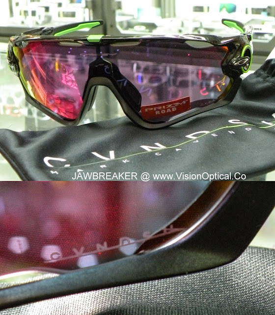 Oakley JAWBREAKER CAVENDISH PRIZM ROAD ASIA FIT