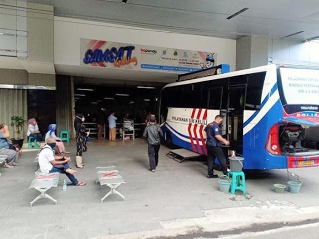 Ini Jadwal Lengkap Layanan SIM Keliling Polrestabes Bandung Selama Bulan Agustus 2020