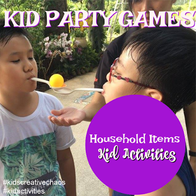 5 Birthday Party Games for Kids Using Household Items