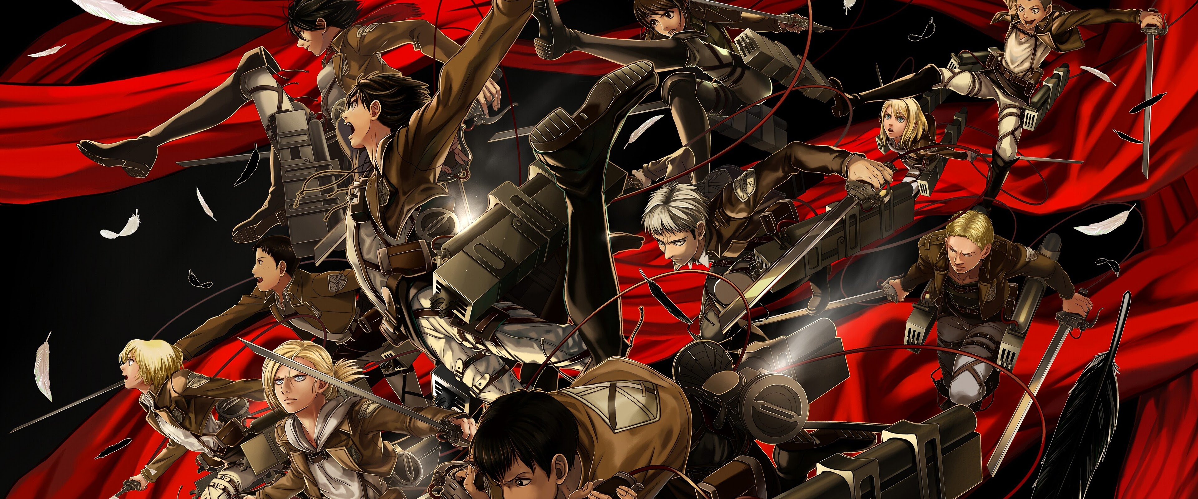 Attack On Titan 2560x1080 Backgrounds