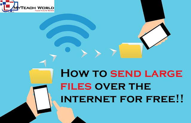How to send large files over the internet   Free Cloud Service
