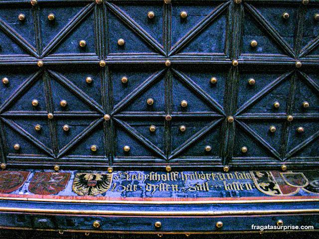 Aposentos dos príncipes-arcebispos no castelo de Salzburgo