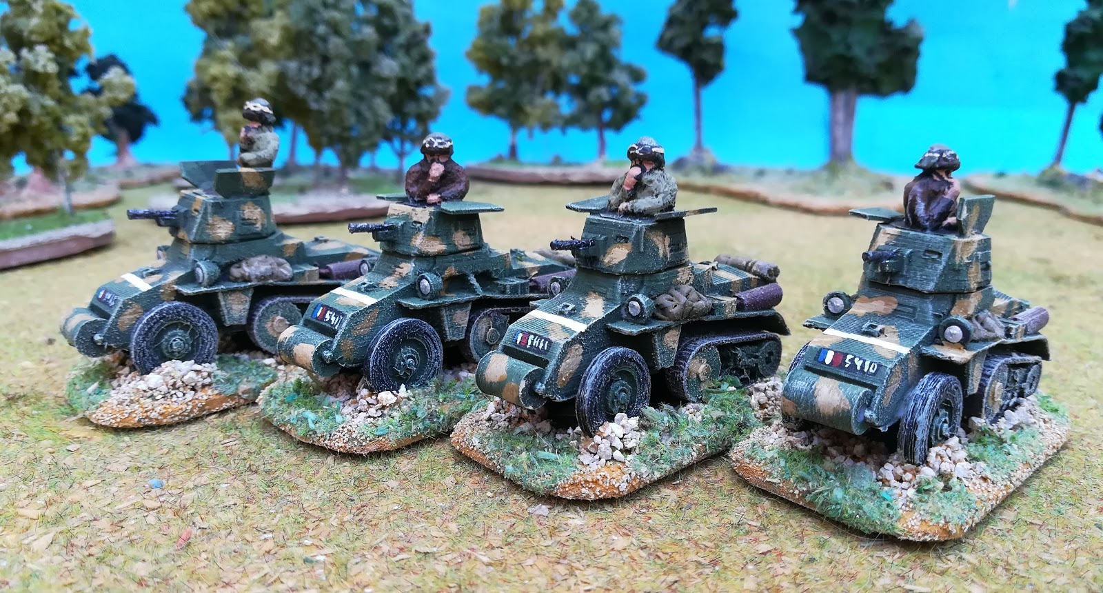 jp wargaming place: Rapid Fire! France 1940 in 20mm - June 40