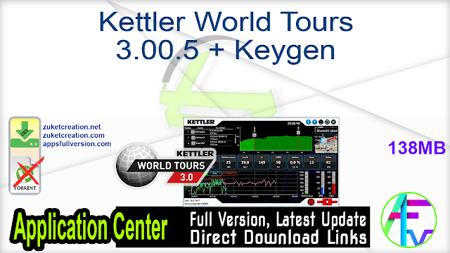 Kettler World Tours 3.00.5 + Keygen
