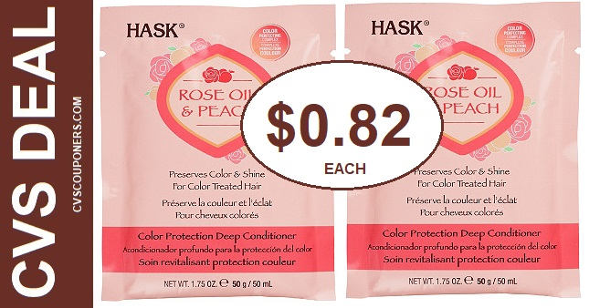 Hask Conditioner Packets CVS Deals