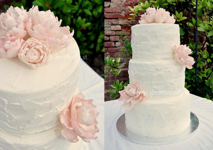 Wedding Cake Fiori Di Zucchero Con Dear Wendy A Torino