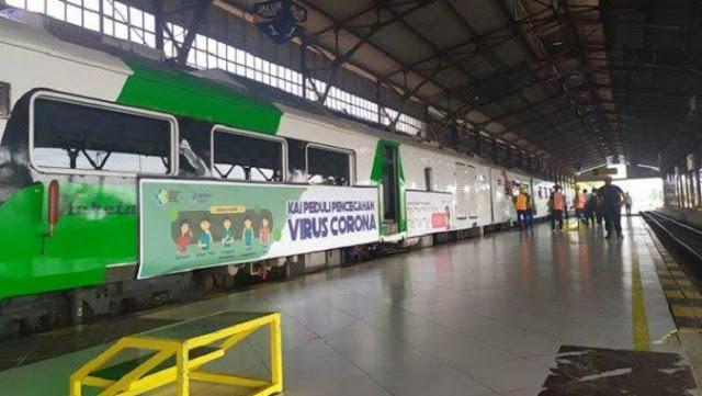 PT KAI Batalkan Perjalanan Jarak Jauh Terhitung 1 April Akibat Corona, Ini Daftar Lengkapnya