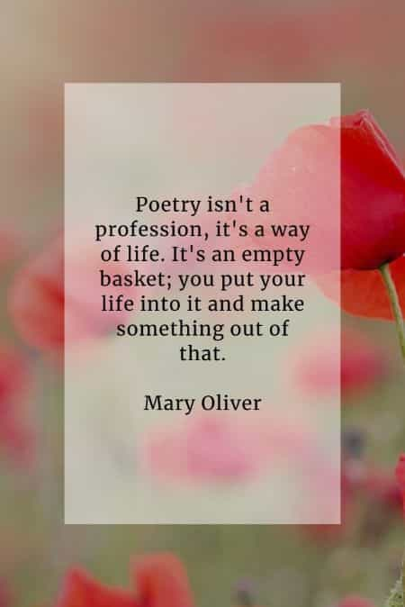 Poetry quotes that will inspire your mind and soul