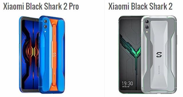 مقارنة بين شاومي Black Shark 2 و Black Shark 2 Pro