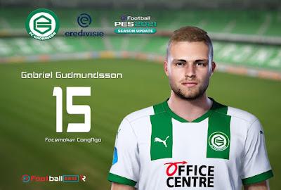 PES 2021 Faces Gabriel Gudmundsson by CongNgo