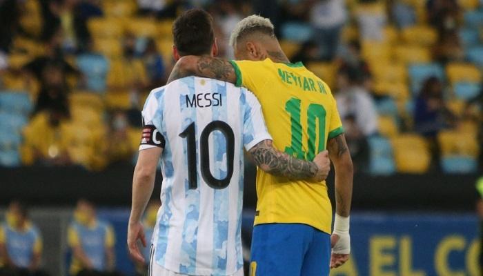 مباراة البرازيل والارجنتين اليوم