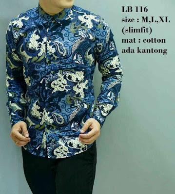 model batik pria gaul