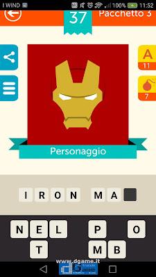 Iconica Italia Pop Logo Quiz soluzione pacchetto 3 livelli 37-50