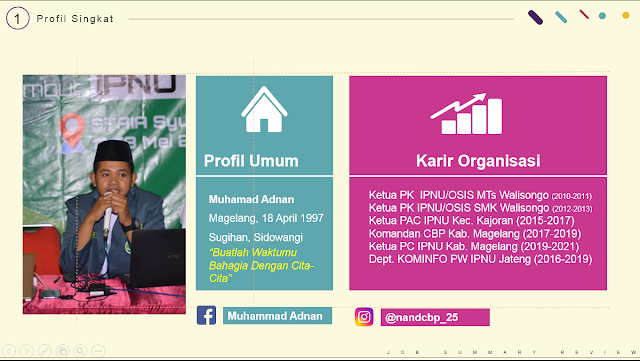 Materi Kepemimpinan LDK SMK Walisongo Kajoran Magelang 2019