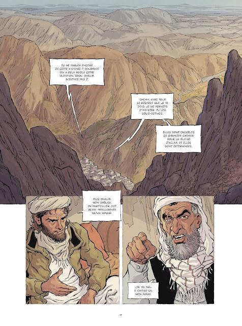 Les fiancées du califat aux éditions Rue de Sèvres page 17
