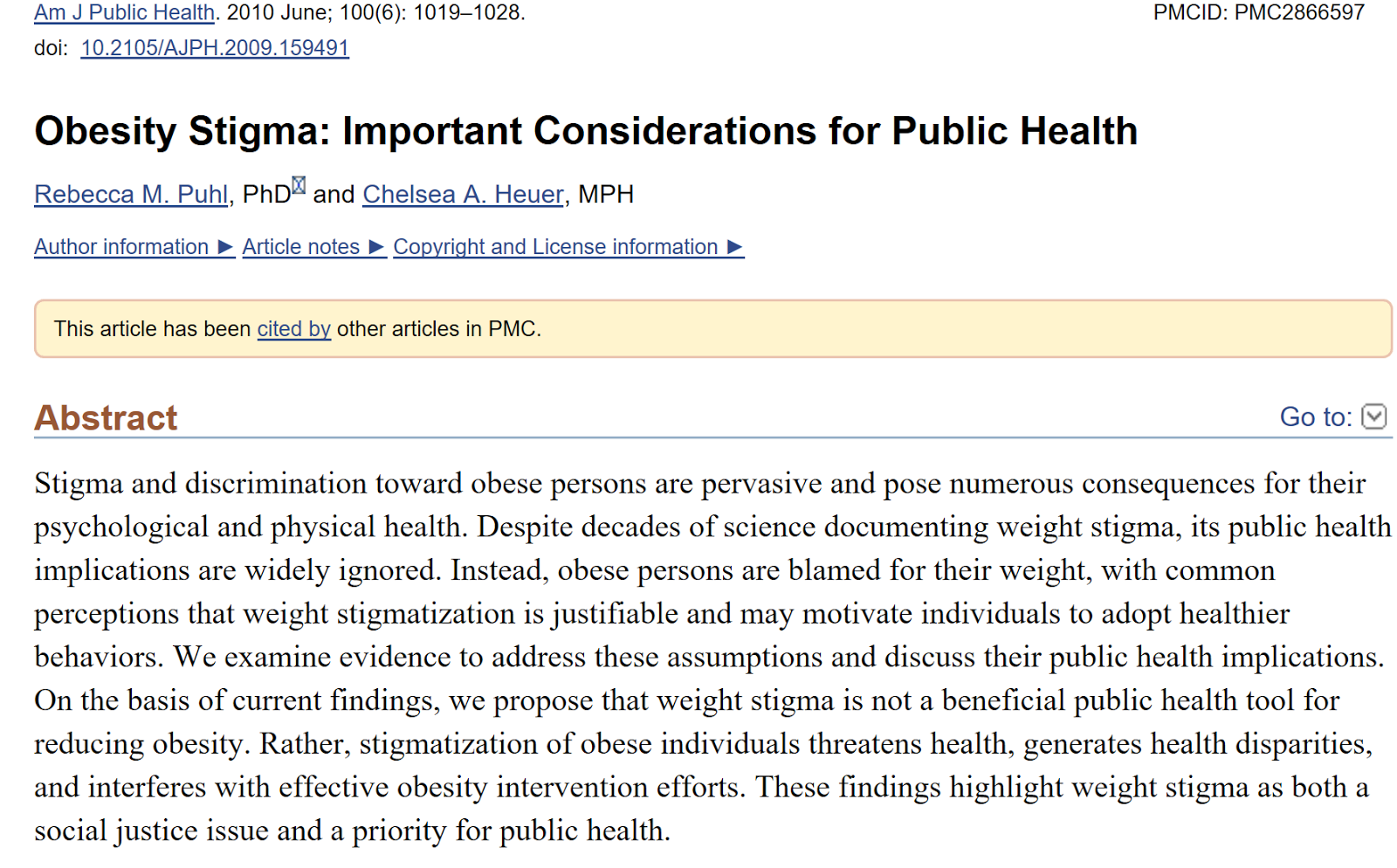 discrimination toward obese individuals essay As obesity is increasing and becoming a serious issue, so is the discrimination against obese individuals it is important to note that discrimination is distinct from prejudice in that discrimination refers to negative treatment of people because of their membership in a particular group.