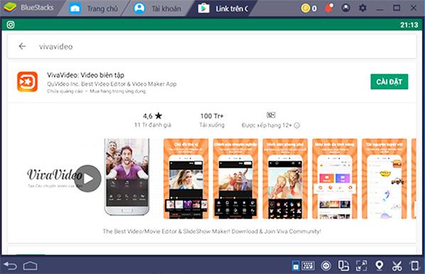 Ứng dụng VivaVideo - Trình tạo và chỉnh sửa video tốt nhất d