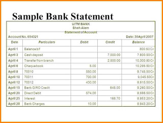 Bank Statement: What is a bank statement?