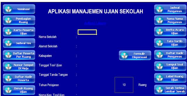 gambar aplikasi ujian sekolah