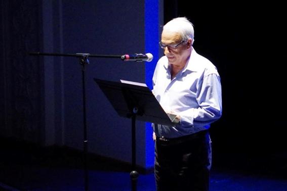 Francesc-Andreu García 'pakiu' -coordinador del recital-