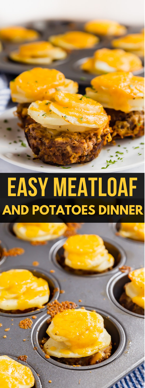 Easy Meatloaf and Potatoes Dinner #dinnerontable #easydinner