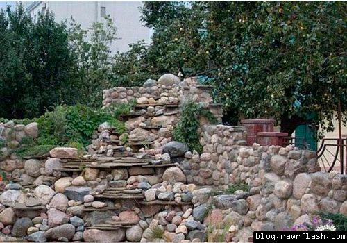 Ache o gato nas pedras