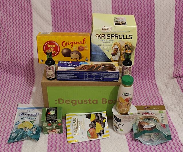 Degustabox caja Noviembre, sección Navidad