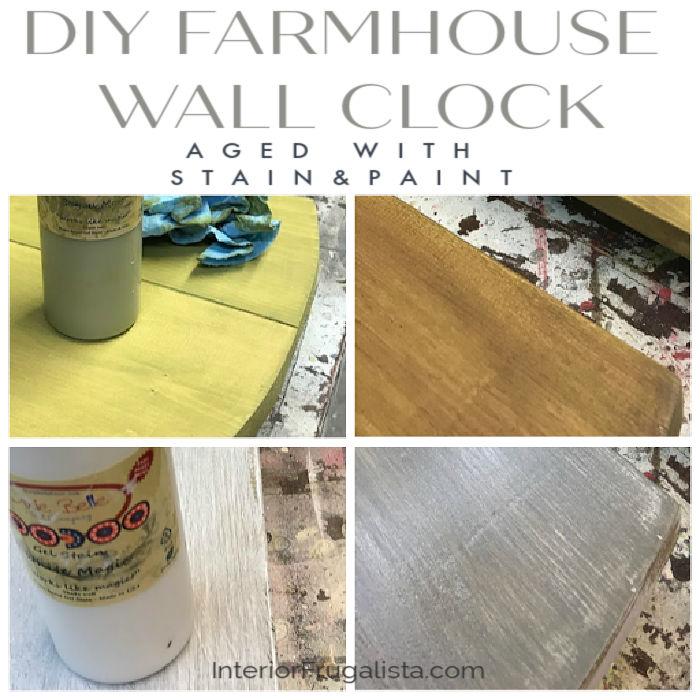 DIY Farmhouse Wall Clock